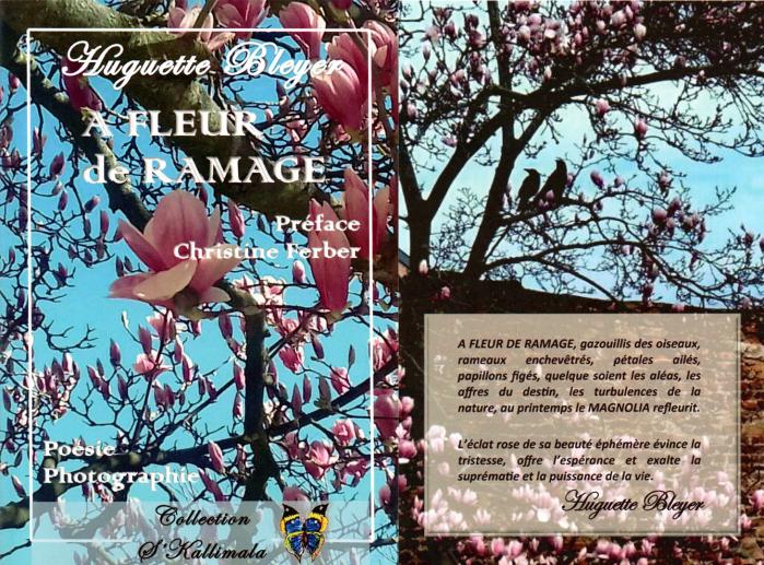 A fleur de ramage de Huguette Bleyer